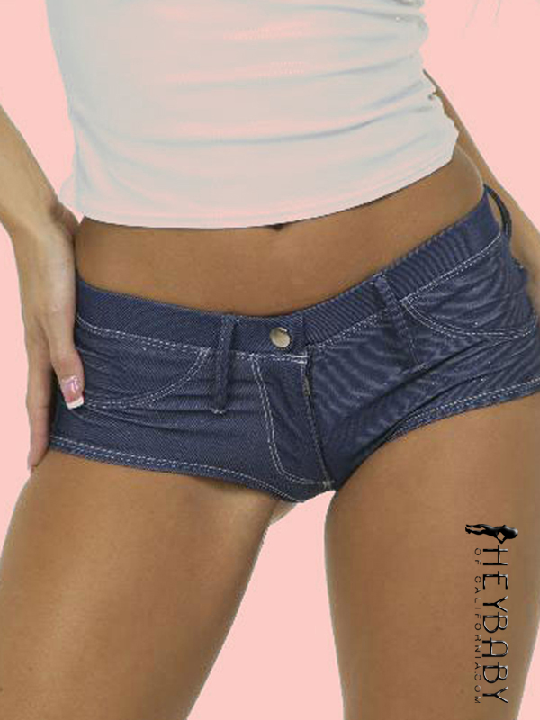 5-314 Denim Sparkle Shorts