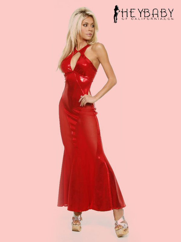 9-325 Keyhole Front Evening Gown